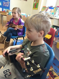 Children in a Music Class
